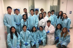 TRiO Student Support Services participants on a tour of Guam Regional Medical City