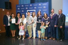 University of Guam alumna Mika Caldwell and Richard Chan
