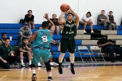 The University of Guam Men's Basketball Team lost 105-91 on Oct. 13 to MacTech at the Coral Reef Recreation Center on Andersen Air Force Base in the Bombers Basketball League.