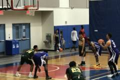 The University of Guam Men's Basketball Team lost 128-70 to the Andersen Bombers on Saturday, Nov. 10