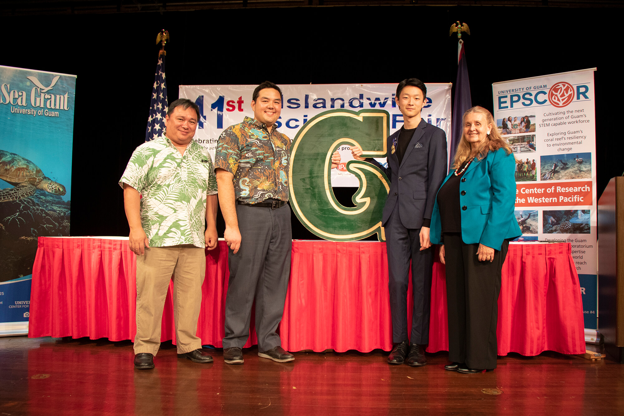 Daniel Z. Kang won the overall award for his division at the 41st Annual Island Wide Science Fair