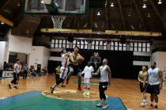 The University of Guam Men's Basketball Team played its best game of the Triton Men's Basketball League season on Feb. 17 at the UOG Calvo Field House in the semi-finals of the Triton League tournament. UOG came out on top 89-84 over the No. 2 seeded MacTech Nerds.
