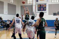 Hopkins scores 40 points for Tritons in a loss to Bombers