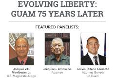 Panel for UOG's 40th Presidential Lecture Series