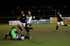 The University of Guam Men's Soccer Team defeated Beercelona Football Club 9-1 in the GFA Amateur Men's League on Feb. 1 at the Guam Football Association's National Training Center.