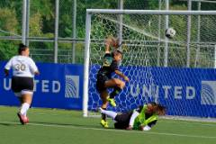 The University of Guam Women's Soccer Team remained unbeaten at a Feb. 16 matchup against the Venue Slay at the Guam Football Association's National Training Center, but it had to settle for a 0-0 tie.