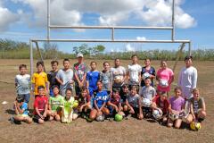 UOG Co-ed Soccer Camp Group