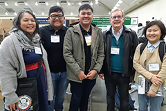 As a first for the University of Guam, two mathematics majors — Robert Babac and Vince Campo — presented their research projects at the largest mathematics conference in the world, the Joint Mathematics Meeting 2019, which this year hosted nearly 6,000 people from Jan. 16–19 in Baltimore.