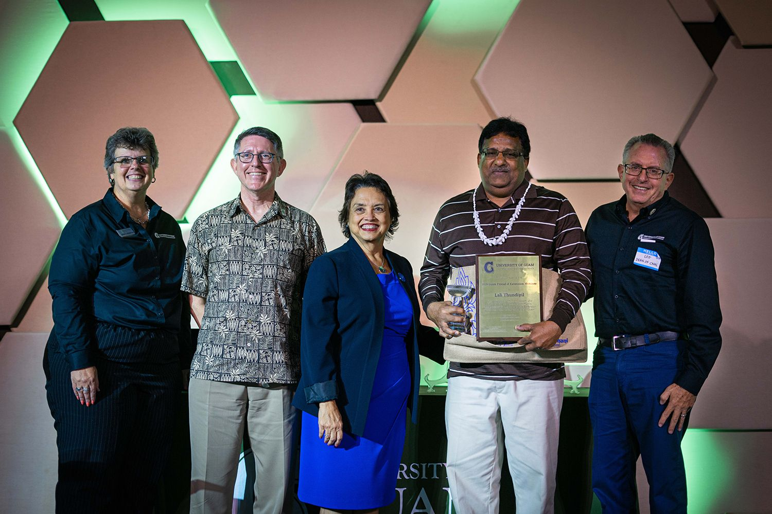 The University of Guam Cooperative Extension & Outreach celebrated its community partners and named the 2019 Friend of Extension during its Annual Cooperative Extension Meeting and Dinner on Sept. 19.