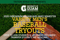 Baseball Tryouts flyer