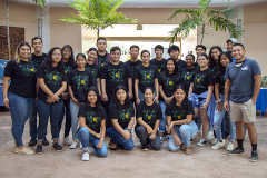 Members of a four-week fellowship program led by UOG, CIS, and UOG Sea Grant