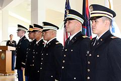Photo of six cadets