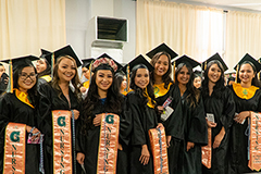 Class of 2019 nursing students at the University of Guam.
