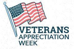 Veterans Appreciation Week events