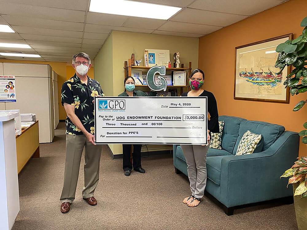 Telethon Funds Purchase 10 000 In Medical Gowns University Of Guam