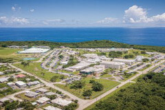 Aerial view of University of Guam