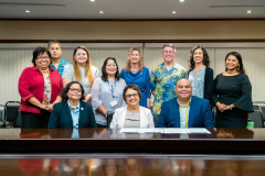 Climate Strong Islands Declaration signing for Guam on Feb. 26