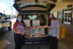 UOG purchased 2,000 face shields for Guam Memorial Hospital with funds raised during its Livestream Telethon last week.