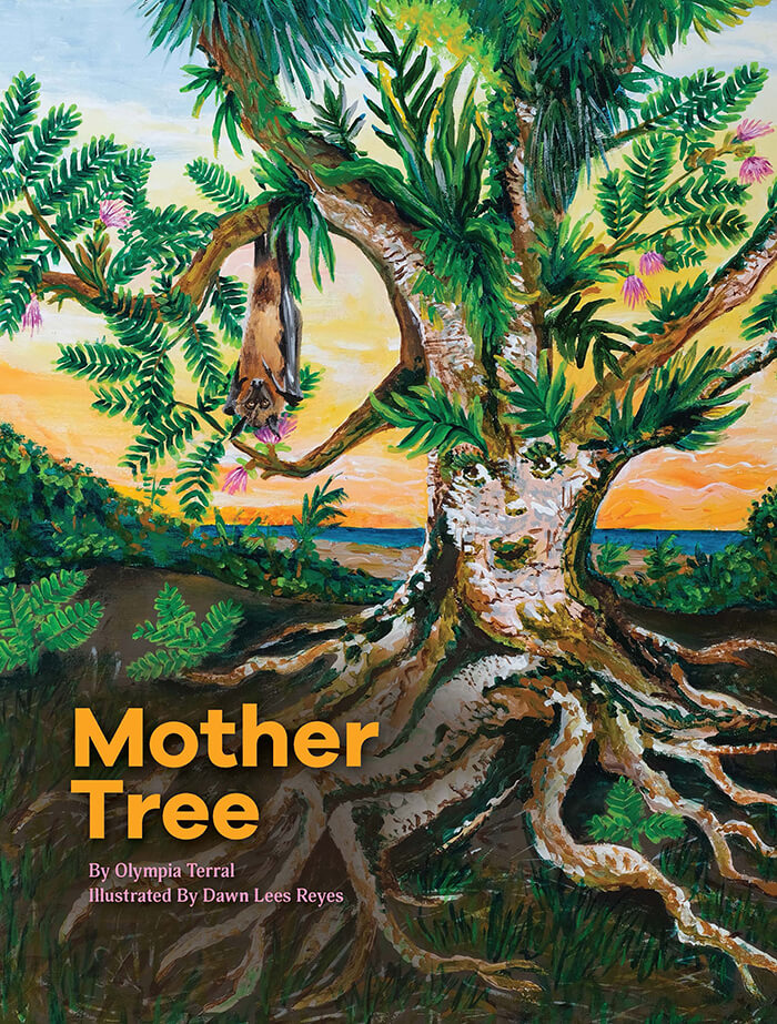 "Children's book, ""Mother Tree"""