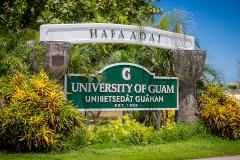 UOG Campus Sign
