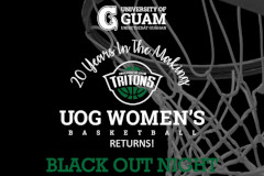 Black Out Night launches UOG Women's Basketball league