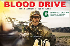 Armed Services Blood Bank blood drive