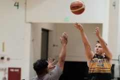Logan Hopkins returns for second year with Tritons Men's Basketball
