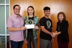 Winning team of Startup Weekend Micronesia.