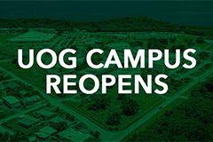 Photo of the UOG Campus overlook