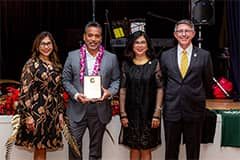 Roland Certeza, president and CEO of GTA, 2019 UOG Distinguished Alumni Award