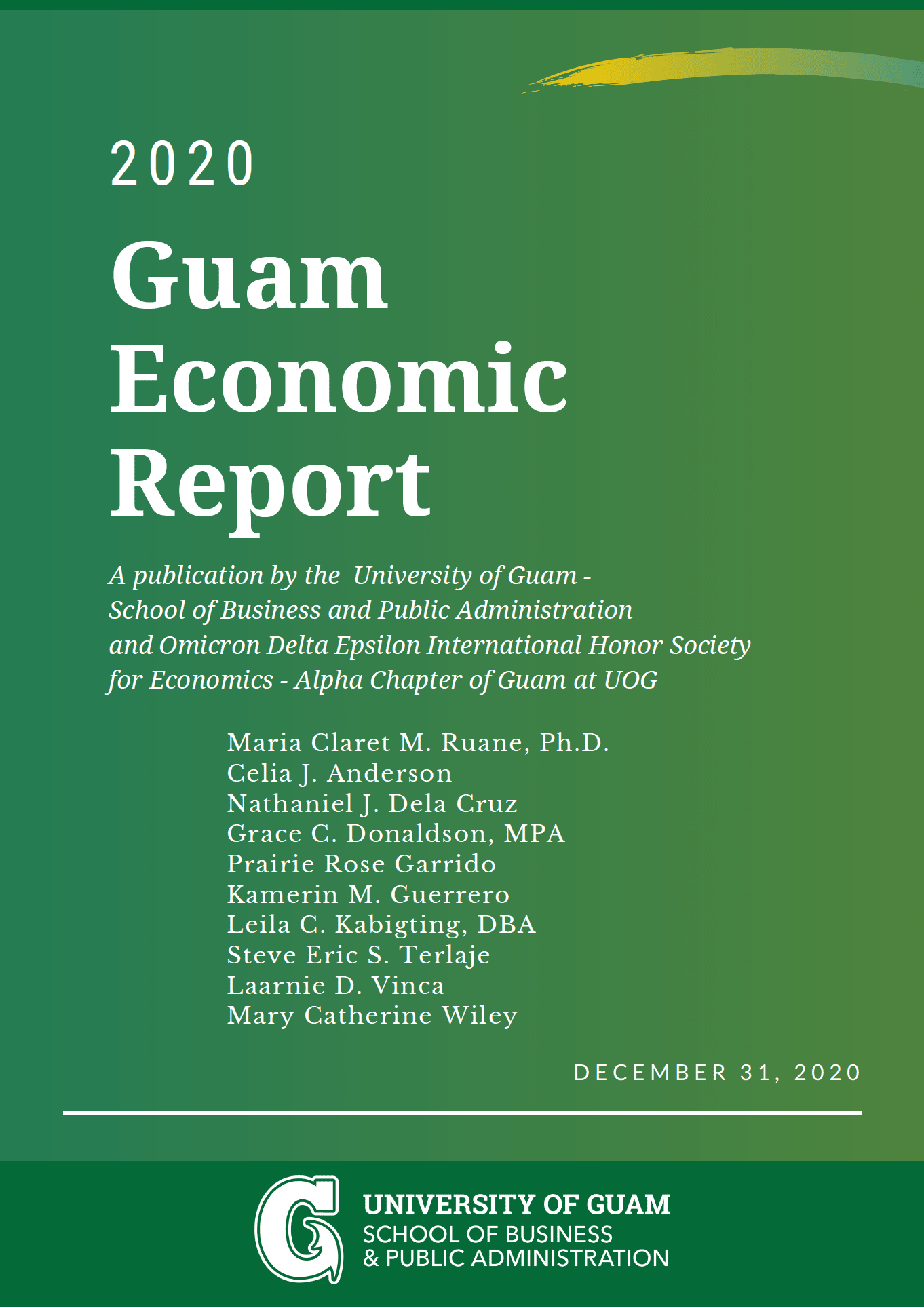 Photo of the Report Cover