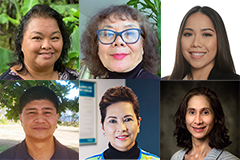 UOG announces six new faculty members and one new administrator in Fanuchånan 2021.