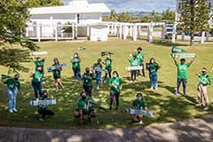 The University of Guam welcomed more than 300 new Tritons at a New Student Orientation event on July 28.