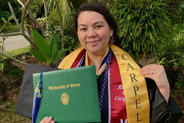 Renee Carpela, a first-year MPA student, has gotten a glimpse of what it's like to be a leader during a pandemic.