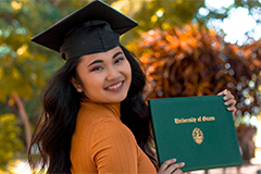 Louise Garcia became a SHRM-CP in December 2020 after qualifying as a senior for the exam.