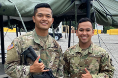 The cadets have been traveling this summer to participate in various training and internship experiences.