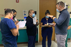 Eight nurses and one physical therapist from GMHA will receive training from a team of nationally recognized wound specialists.