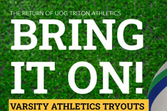 Tryouts are open to all full-time and part-time UOG students for the fanuchånan semester of 2021.