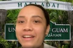 University of Guam student Julianne Ballon will graduate thousands of miles away from UOG since she has to take care of her mother in Los Angeles.