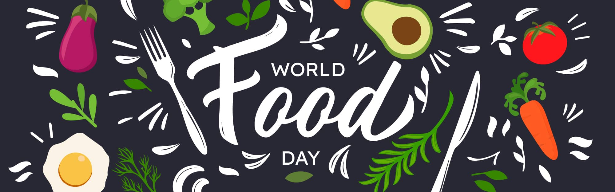 Graphic photo that says World Food Day