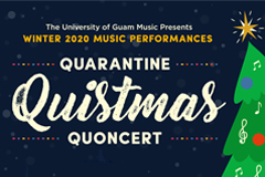 Photo of the flyer for Quarantine Quistmas Quoncert