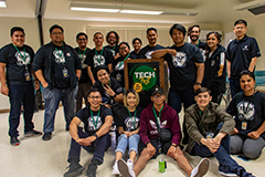 Group photo of the OIT team during Tech Fest 2020