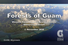 Filmed by Tim Rock, the video showcases the beauty of Guam's forests and the threats they face.