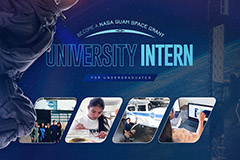Applications are now being accepted for teaching or research internships with NASA Guam Space Grant.