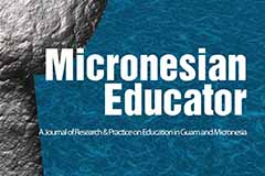 Photo of the Micronesian Educator journal cover