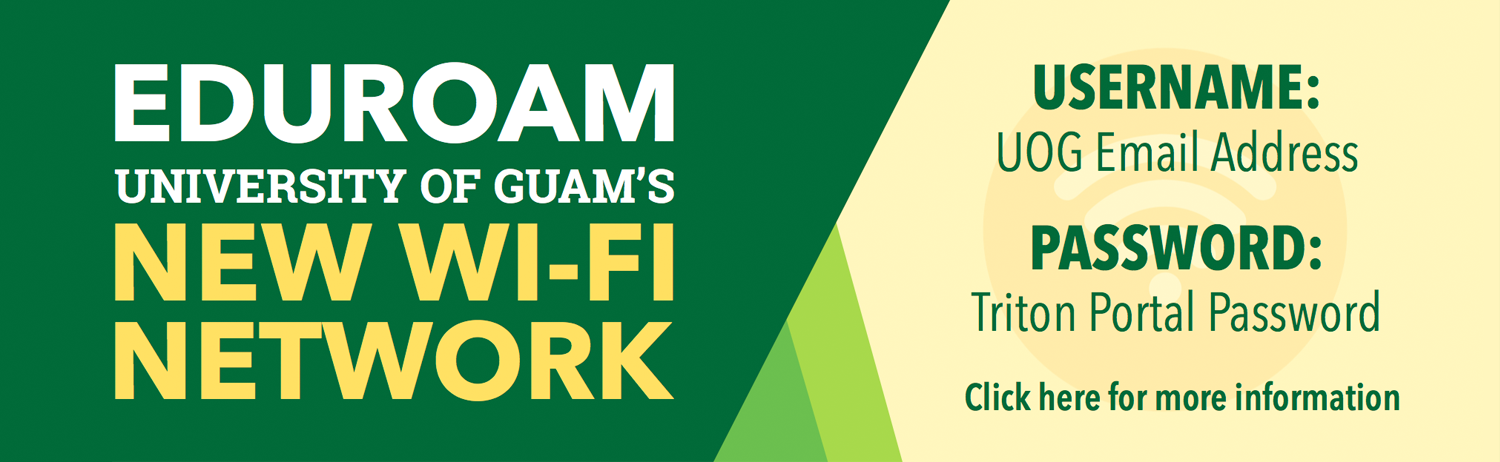 University of Guam's New Wi-FI Network