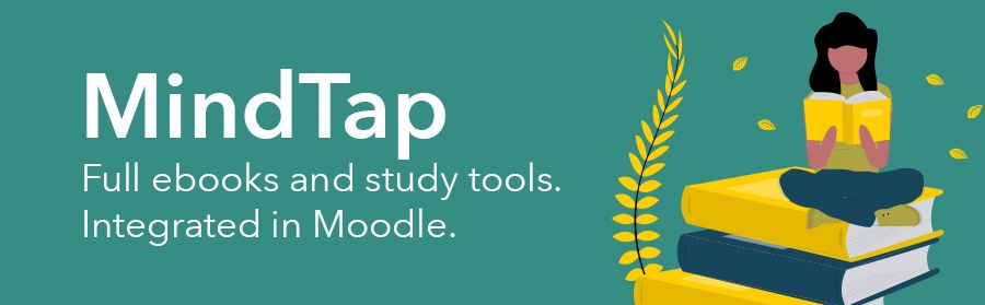Graphic: Cengage's Mindtap provides full ebooks and study tools