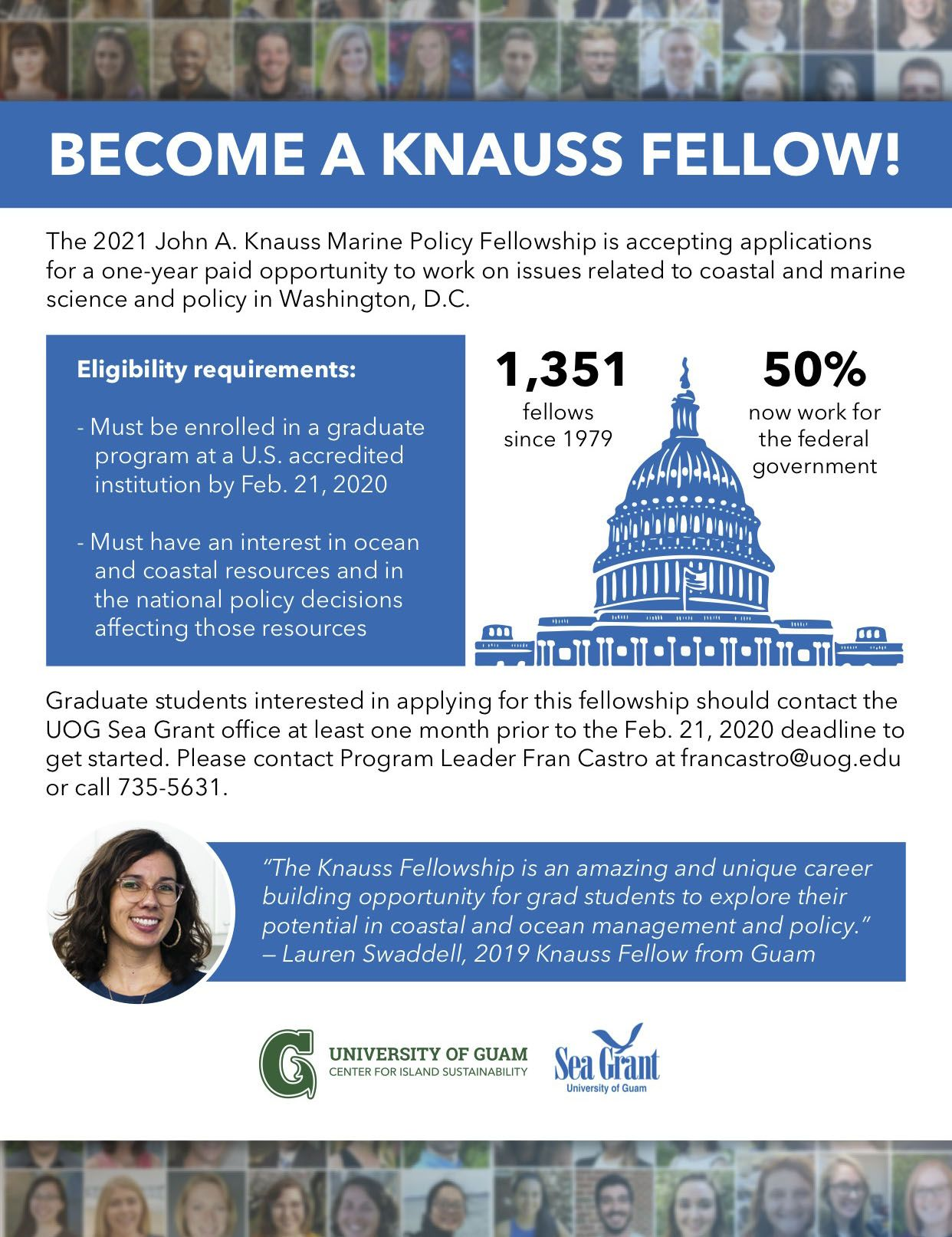 Knauss Fellowship 2020