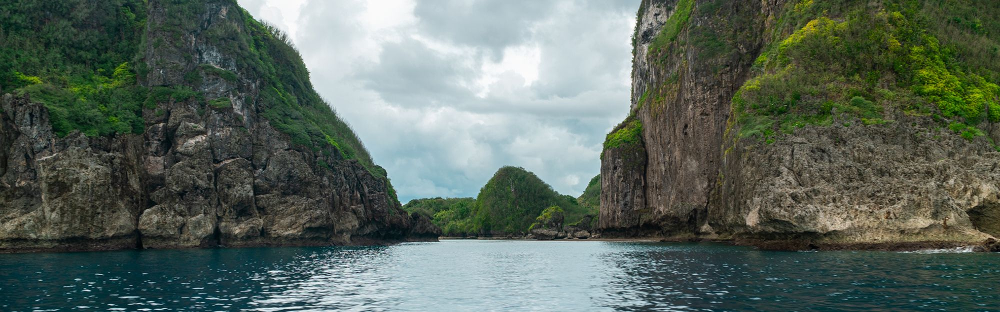Boating trip along Guam's west coast