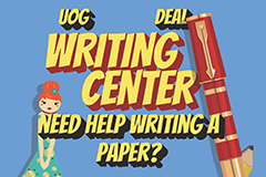 Need help writing a paper? The DEAL Writing Center can help you write your papers for intersession.